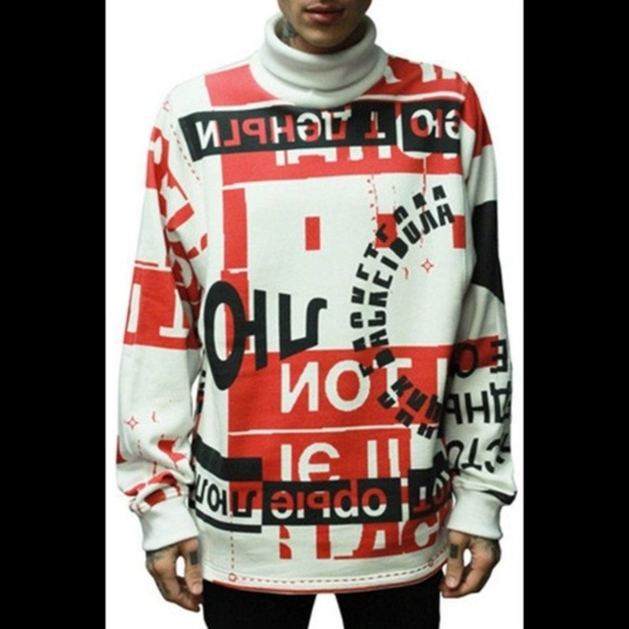 ab00e23ed BAZAR 14 Shirts | Sweatshirt Red White Men Sz Xl | Poshmark